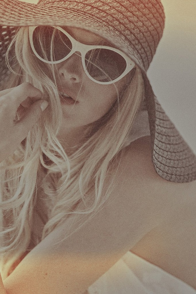 Elsa Hosk Topless Photoshoot