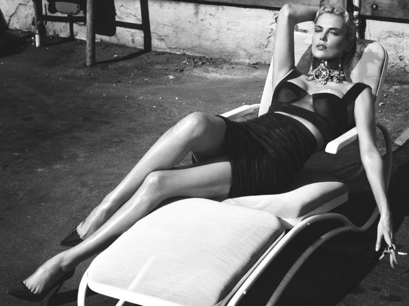 Charlize Theron model pictures