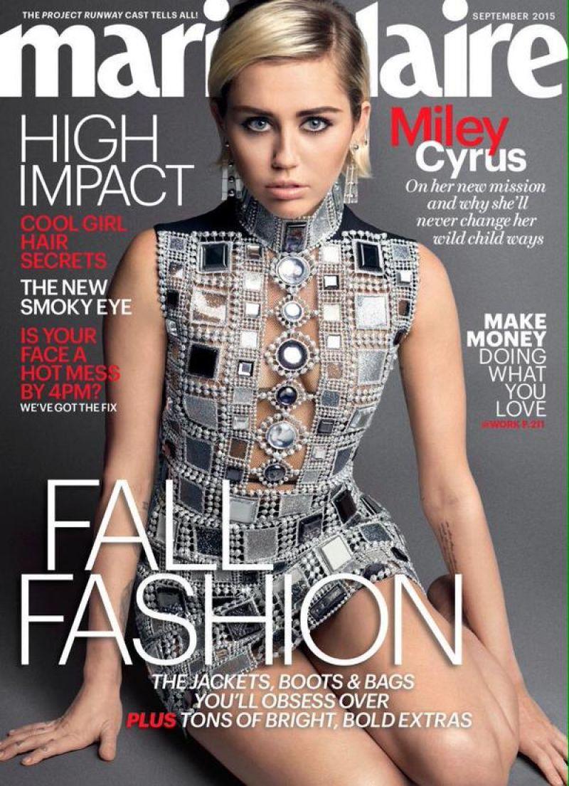 Miley Cyrus see-through photos