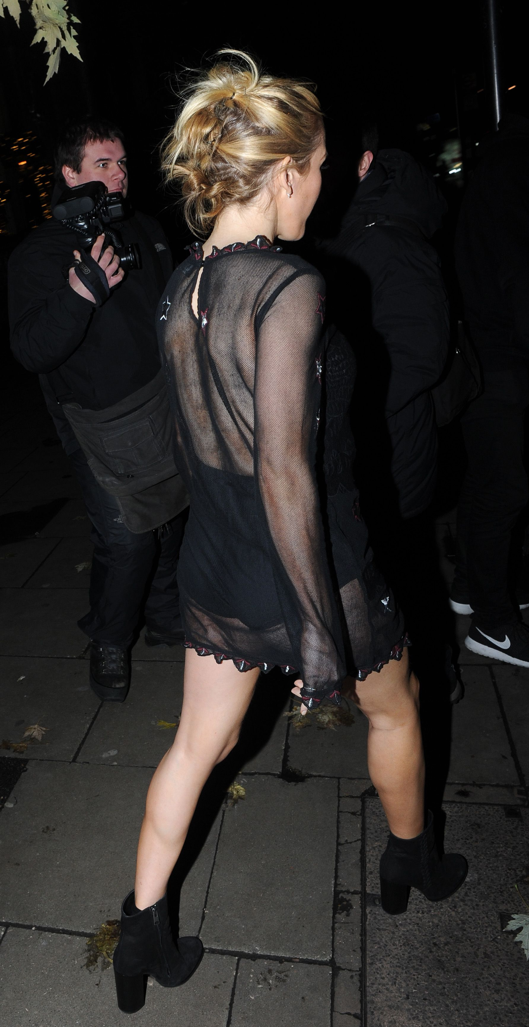 Ellie Goulding See-Through Photos