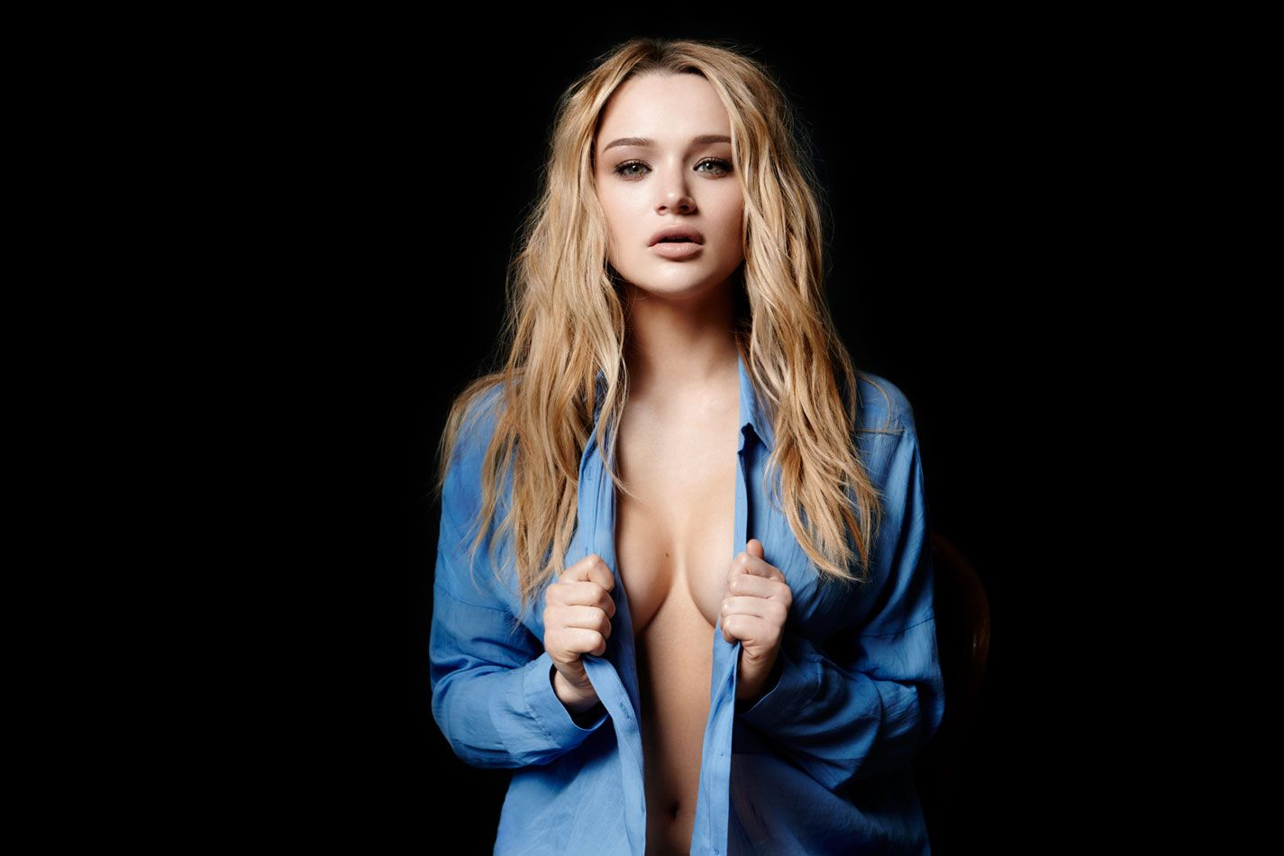 Topless Photo of Hunter King