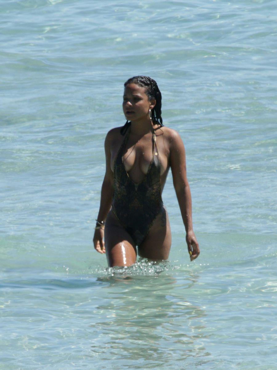 Swimsuit Photos of Christina Milian