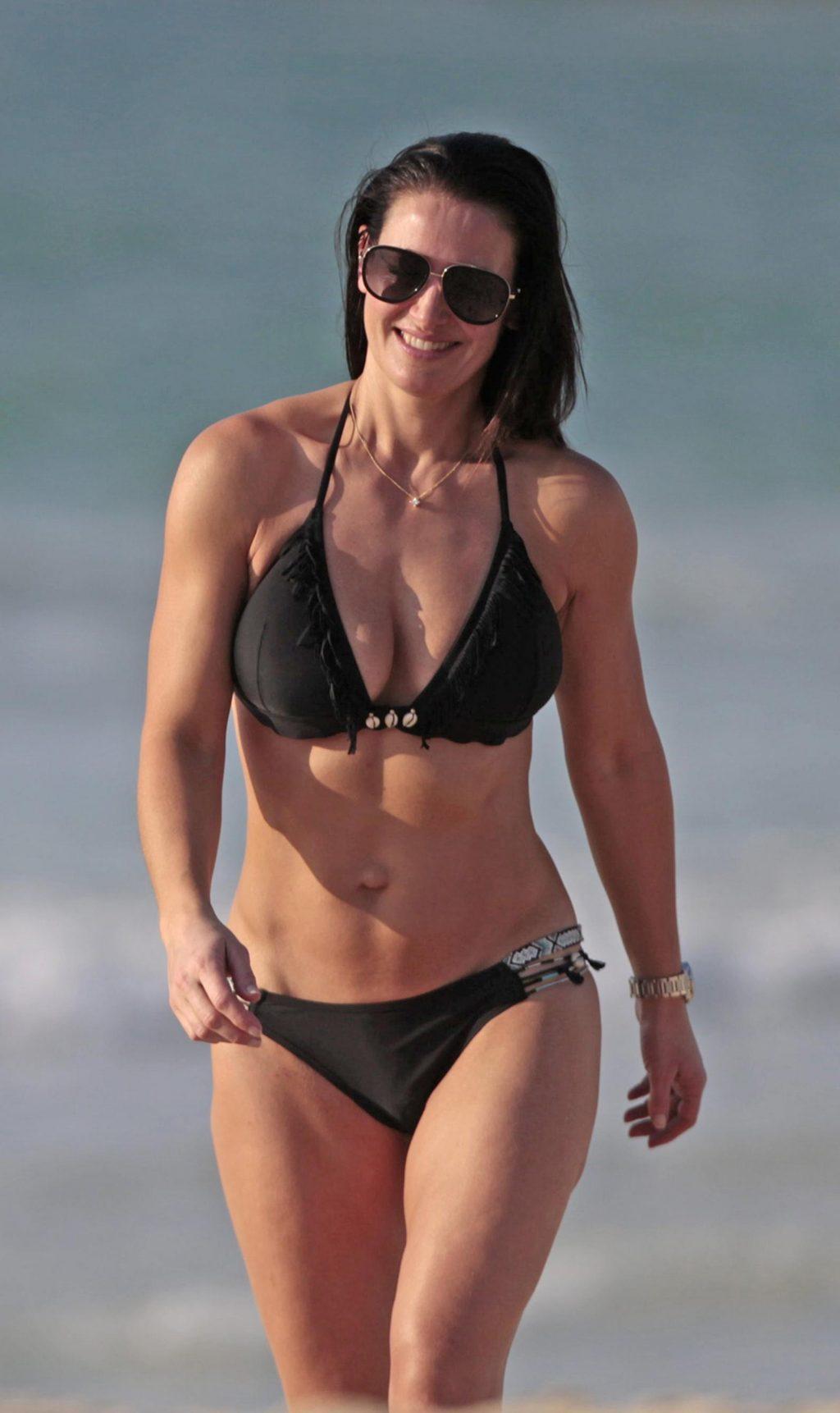 Kirsty Gallacher & Natalie Pinkham Bikini