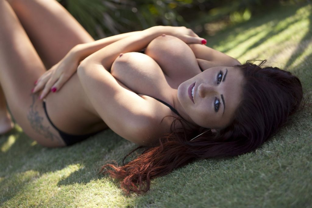 India Reynolds Topless