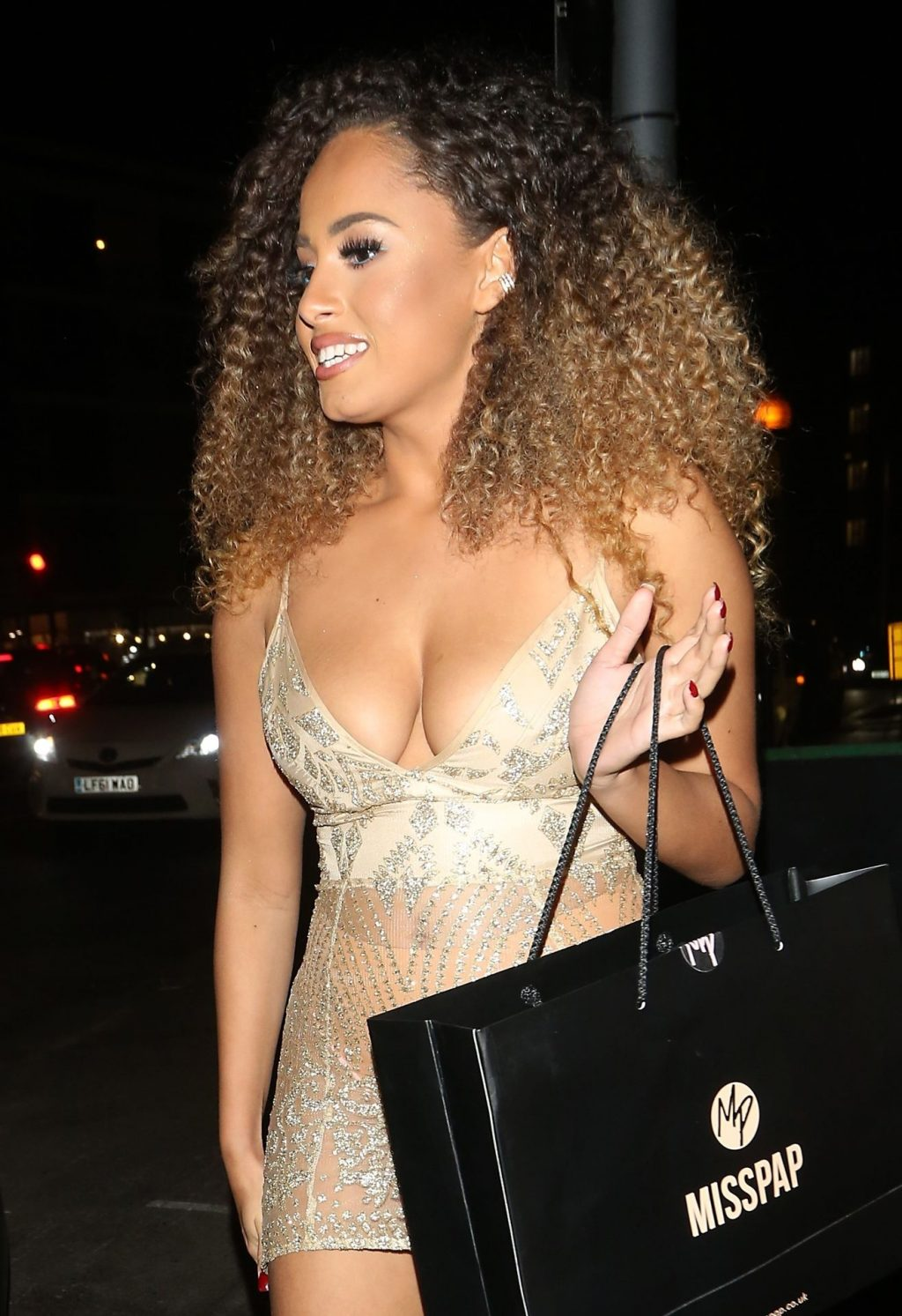 Amber Rose Gill Cleavage