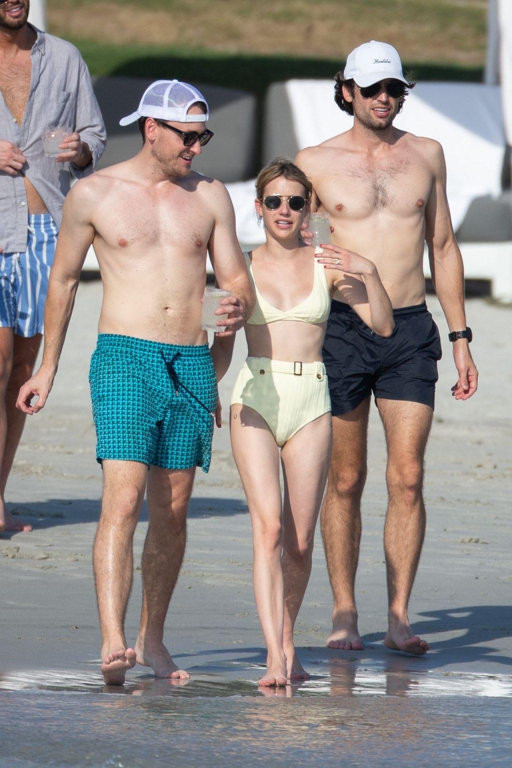 Emma Roberts Bikini