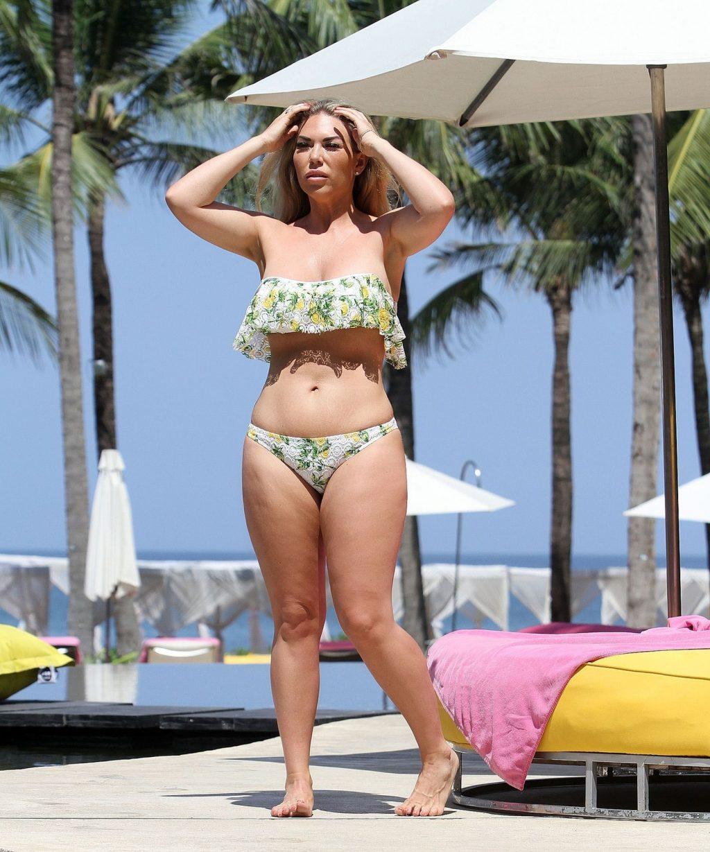 Frankie Essex Bikini