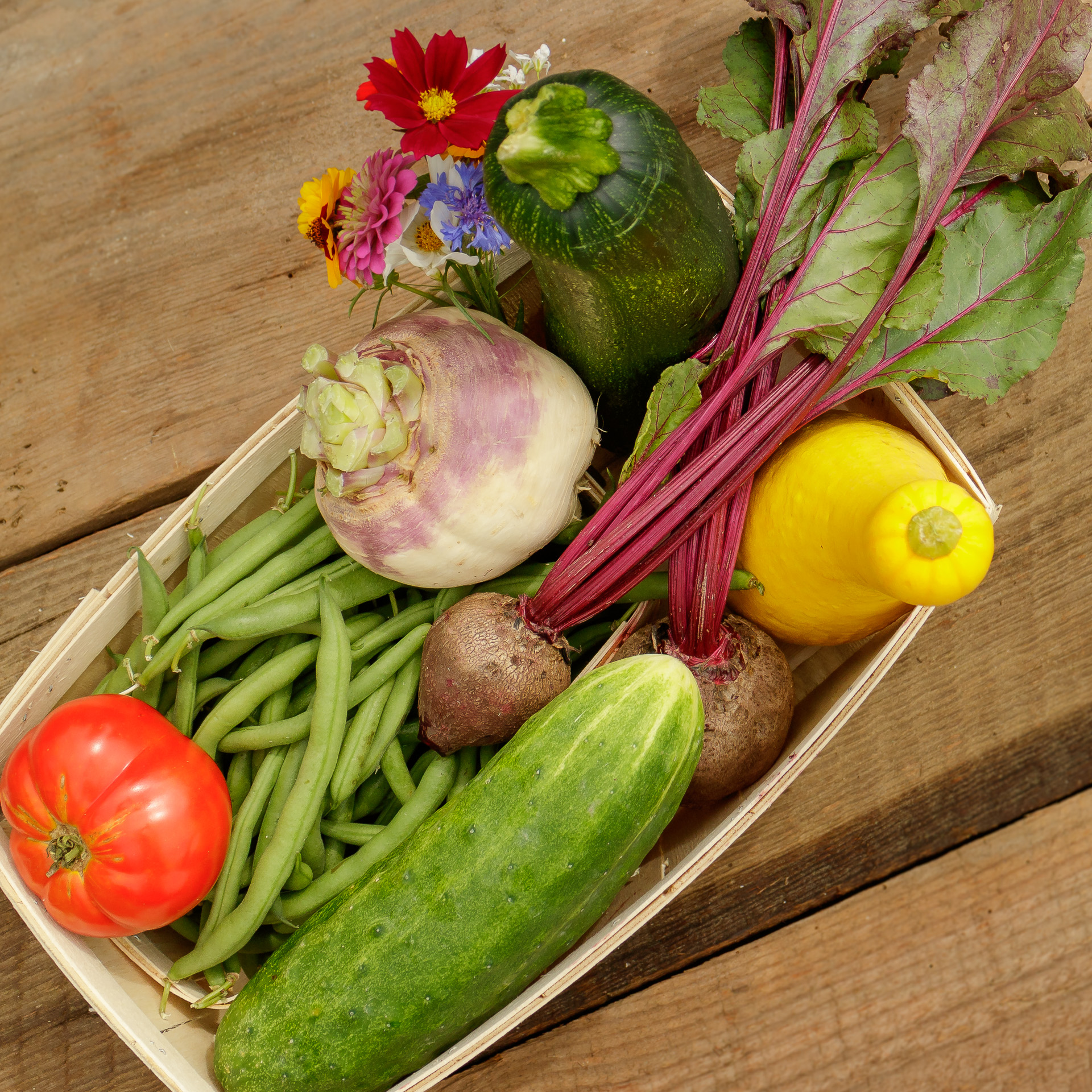 Produce Baskets Available at The FARM