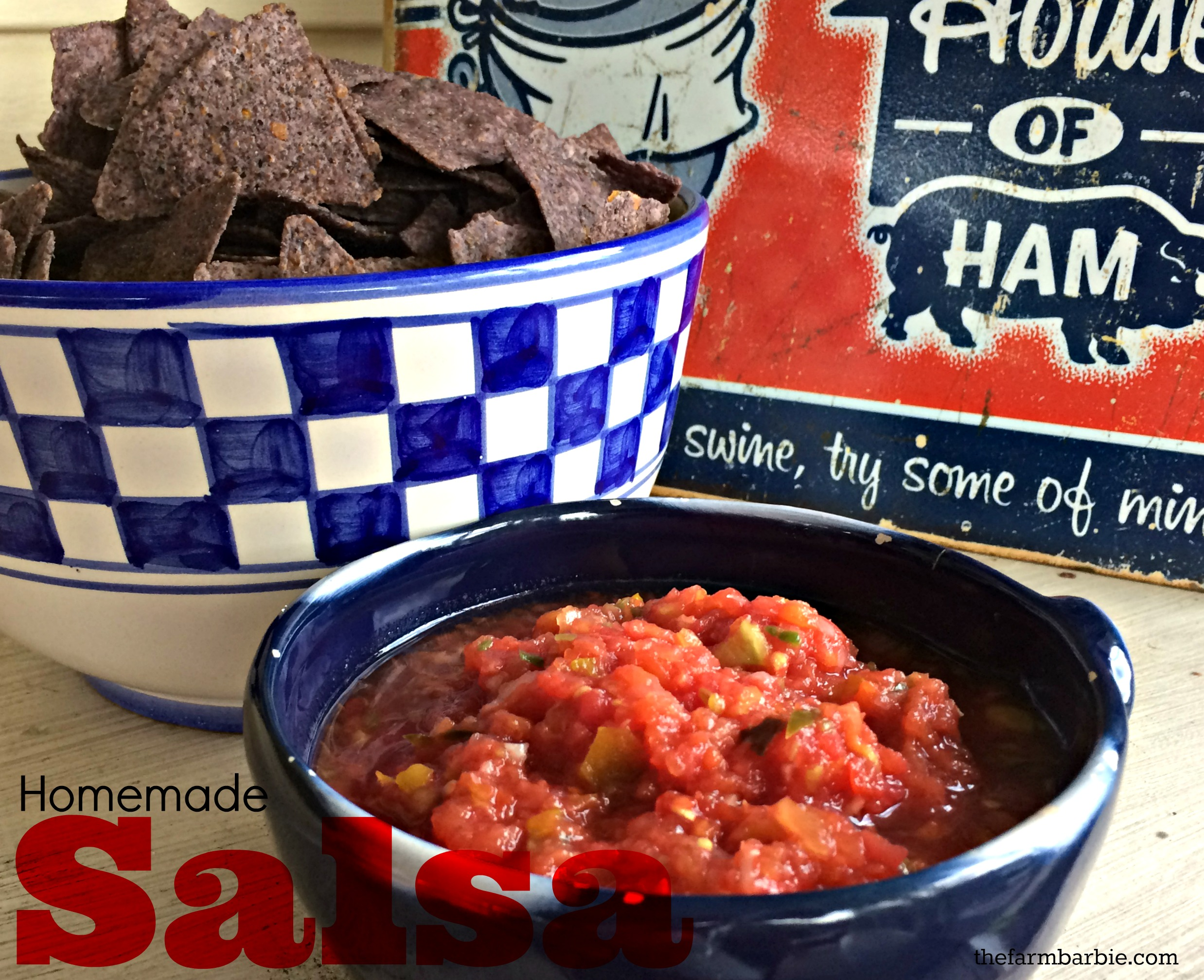 how to make salsa and can it