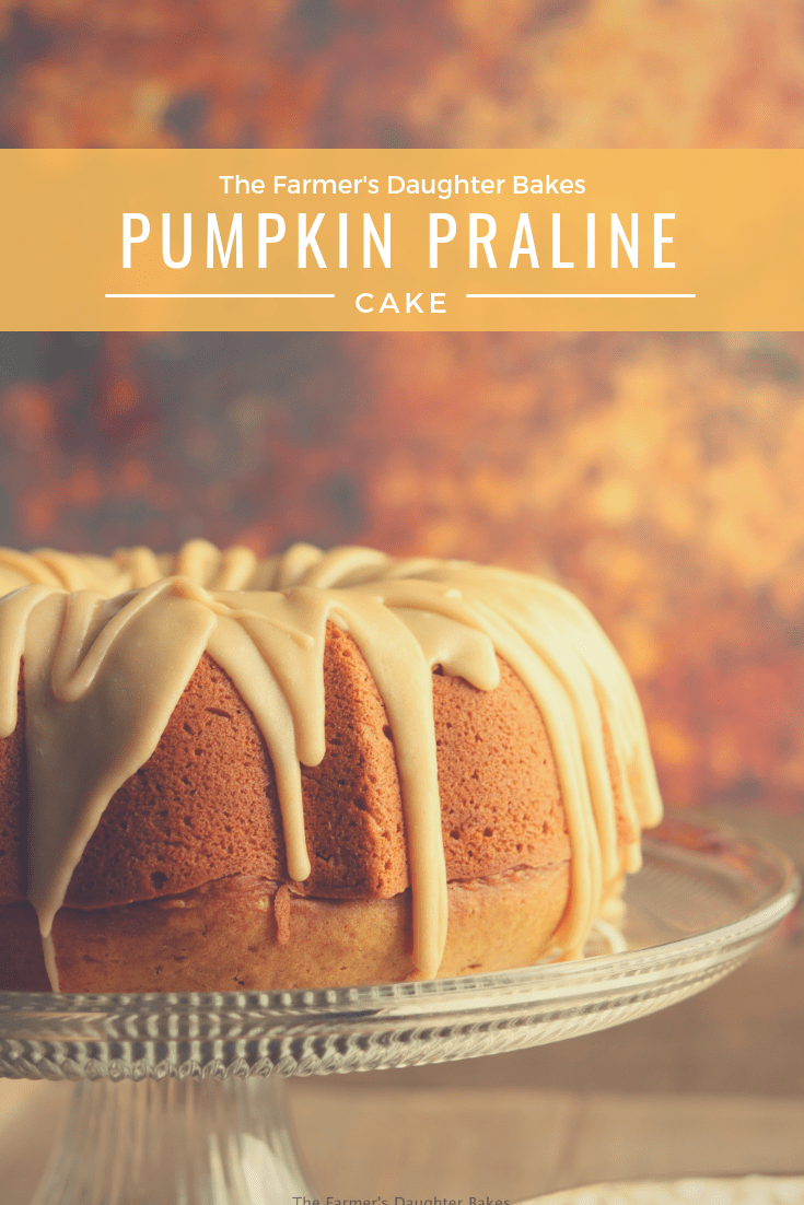 pumpkin, pumpkin cake, praline, cake recipe, thanksgiving, thanksgiving desserts
