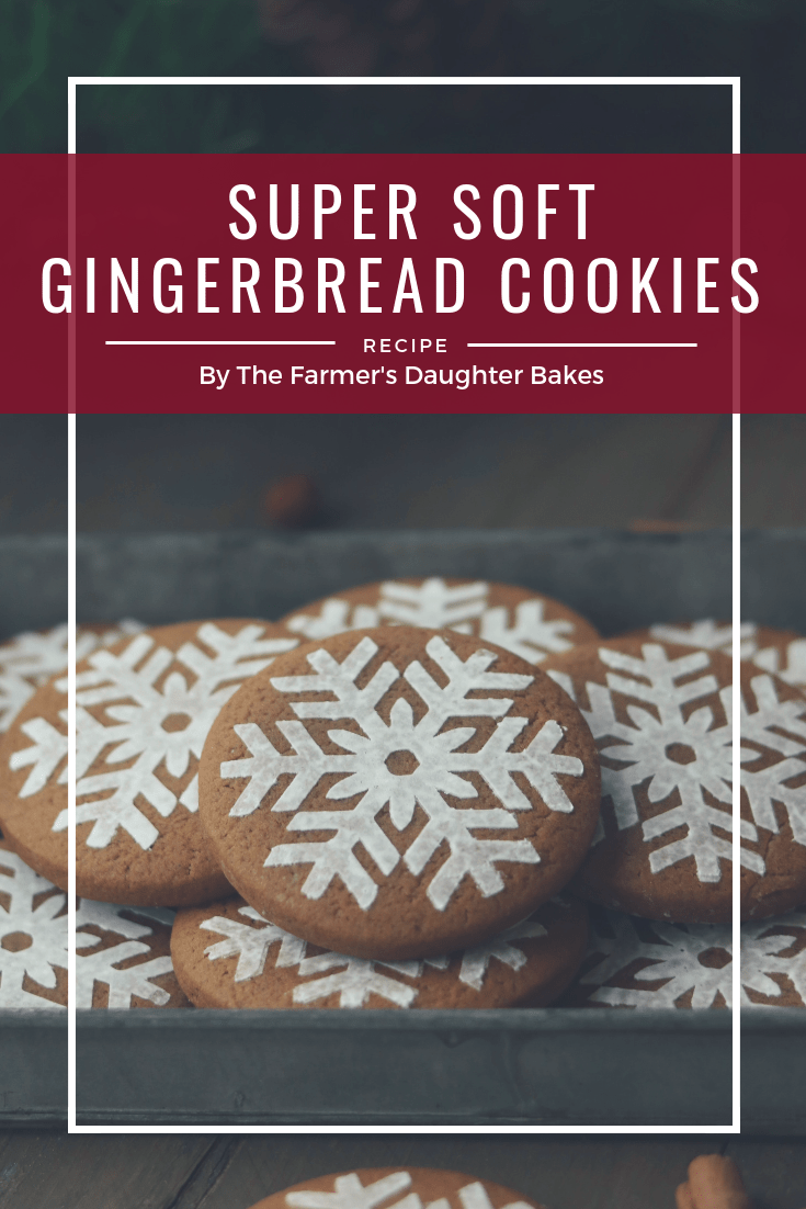 gingerbread cookies, gingerbread, soft gingerbread