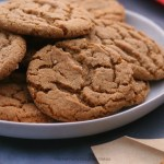 molasses, cookies, cookie recipe, chewy cookies, fall food, winter food