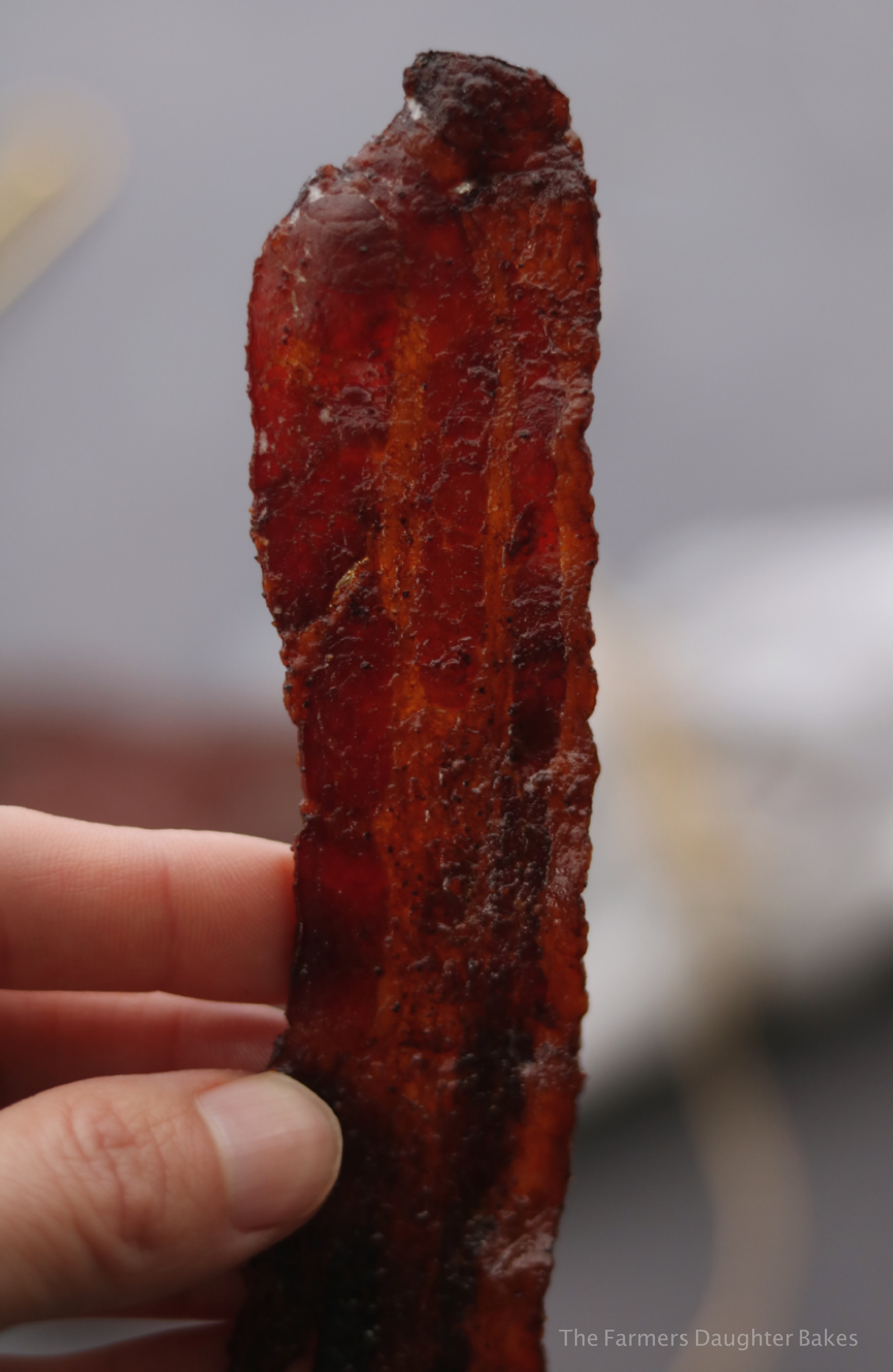 bacon, candied bacon, sweet, spicy