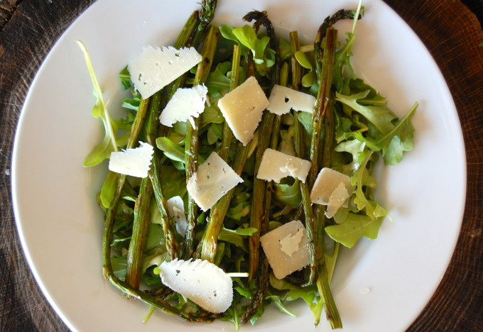 Oklahoma Spring Produce Guide – Roasted Asparagus Salad