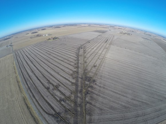 Farm Drainage Aerial View via the farmerslife.com