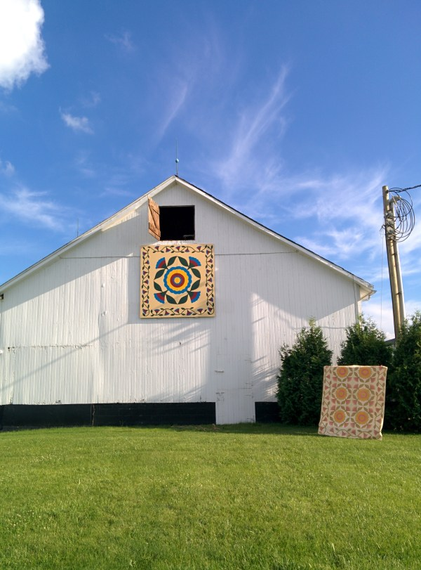 Raising The Barn Quilt The Farmers Life