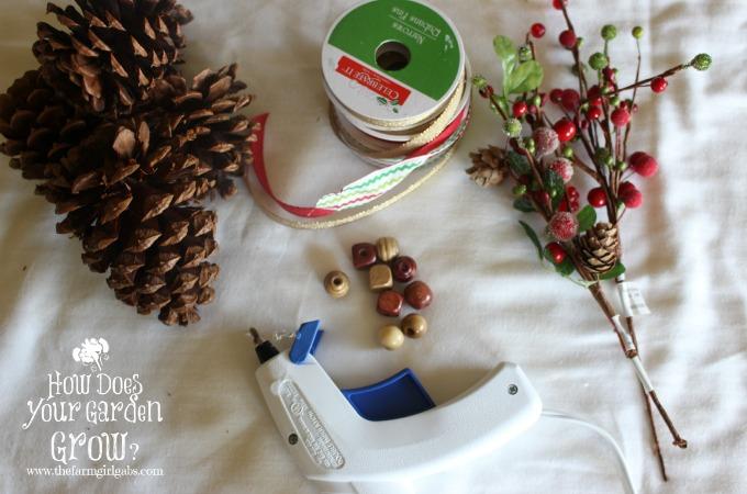 Pinecone Ornaments Supplies