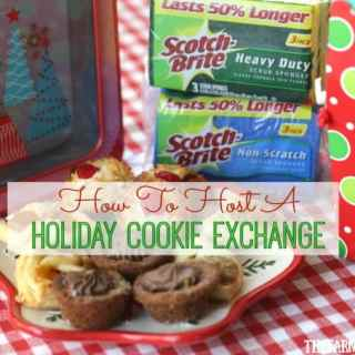 The Christmas season is here! Let's have some holiday baking fun. Follow these tips on How To Host A Holiday Cookie Exchange. #Ad #ScrubSeason