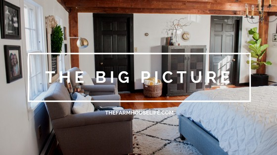 A master bedroom and The Big Picture is written.