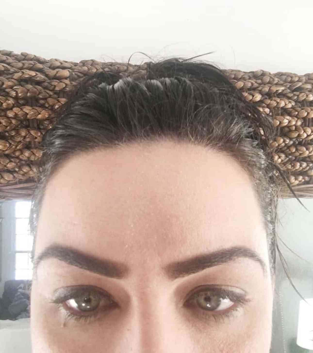 The perfect eyebrows shaped.