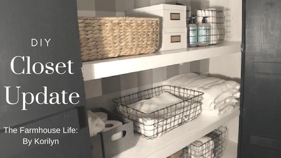 DIY Closet Update