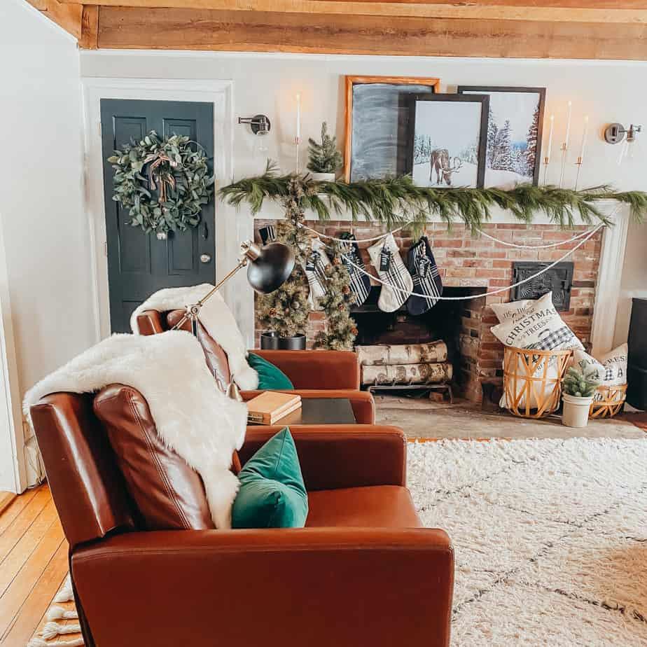DIY Fresh Christmas Garland