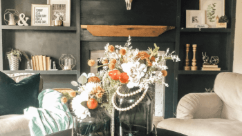 DIY Fridays – How to Transition from summer florals arrangements to fall