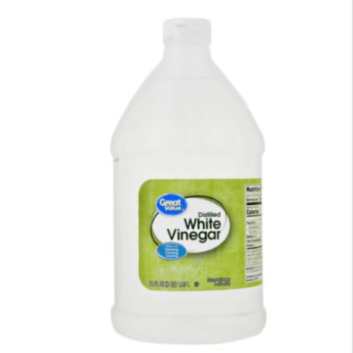 Gallon size white vinegar.