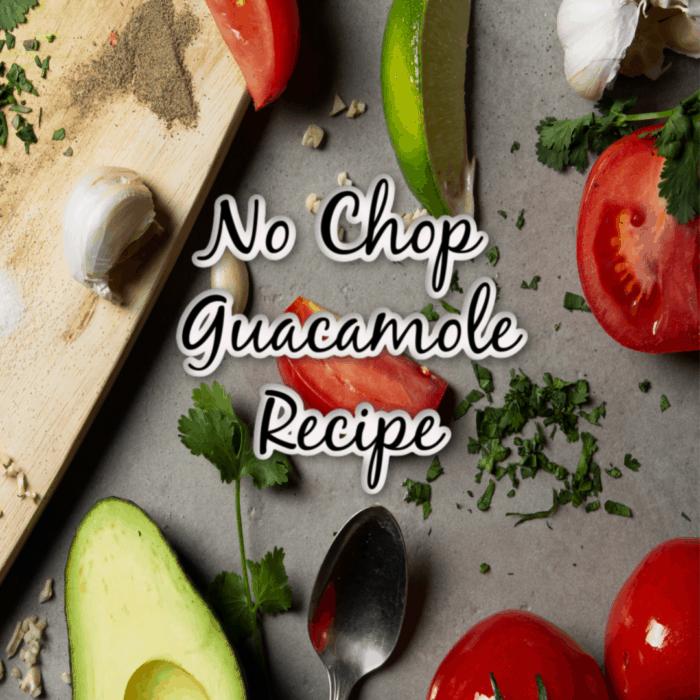 no chop guacamole
