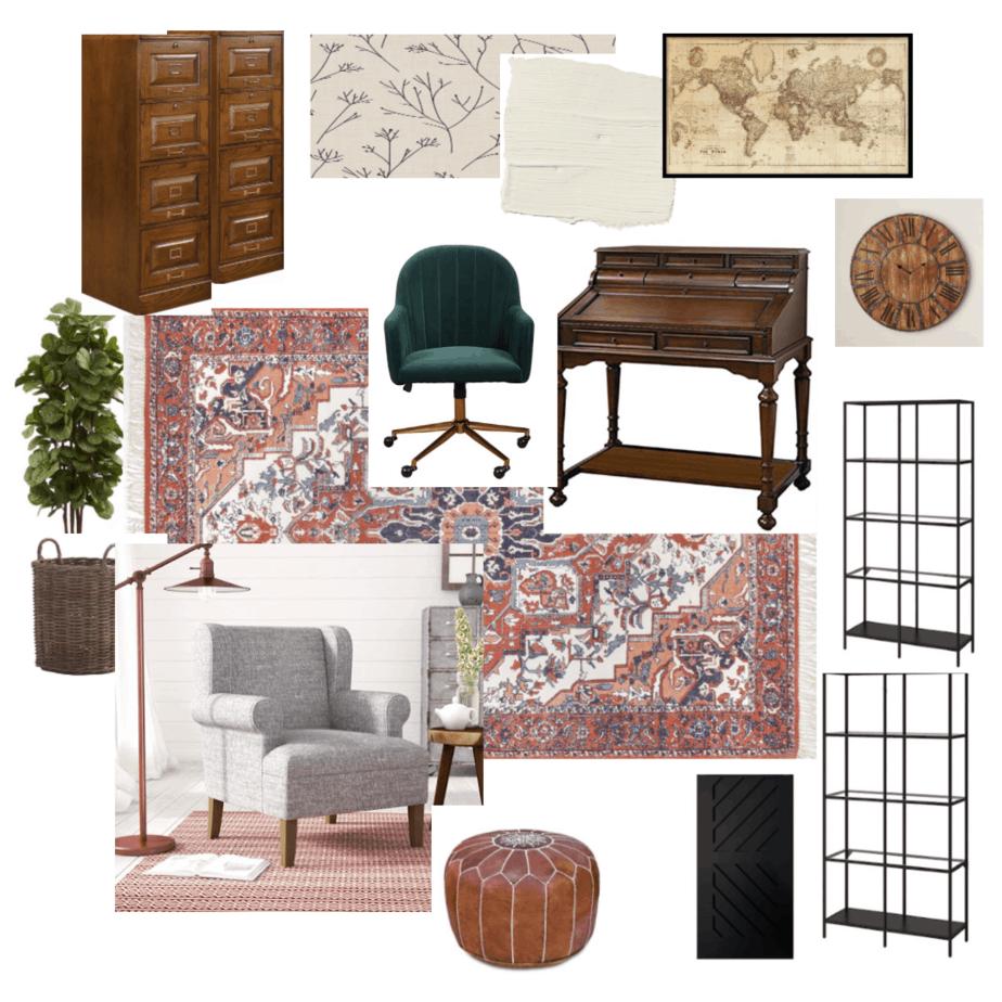 One Room Challenge Week 1: Home office design!