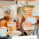 Hot cocoa and coffee bar Ideas