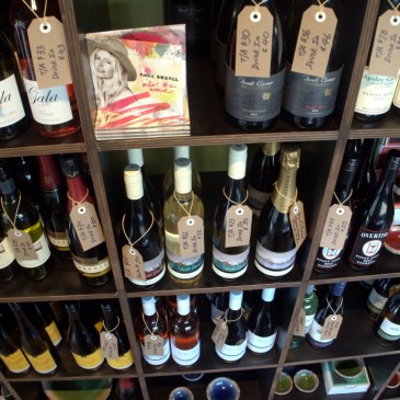 A Selection of East Coast Wines available at The Farm Shed East Coast Wine Centre, Bicheno, Tasmania