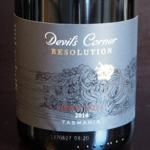Devils Corner Resolution Pinot Noir