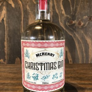 McHenry Christmas Gin is flavoured with frankinsense, myrrh and gold