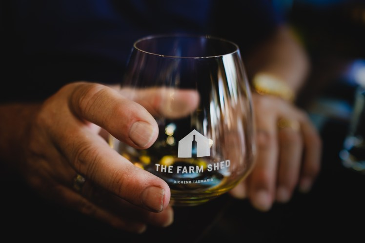 Experience fine Tasmanian whiskies at The Farm Shed