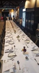Festival Long Table Dinner at The Farm Shed with guest chefsStefaan and Jonathan fromFurneaux Restaurant