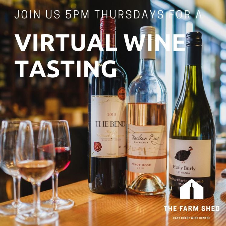 Join us for a virtual winetasting
