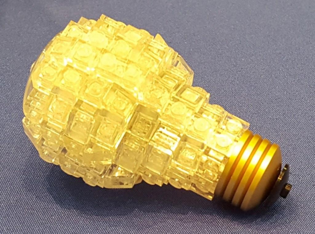 Lego Light Bulb