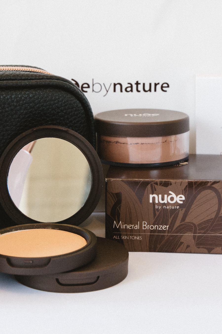 Nude By Nature makeup review.