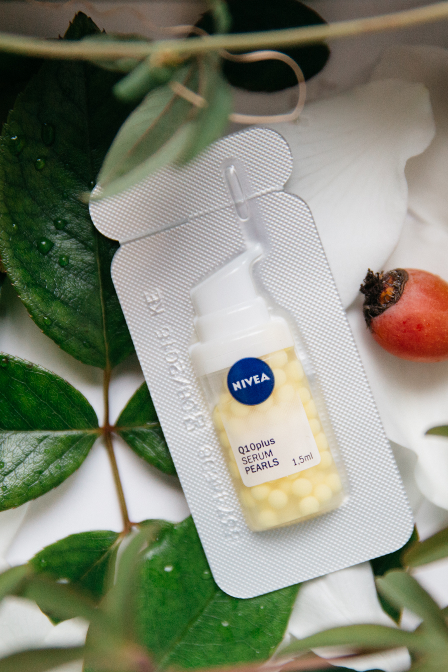 Nivea Q10plus serum pearls review.
