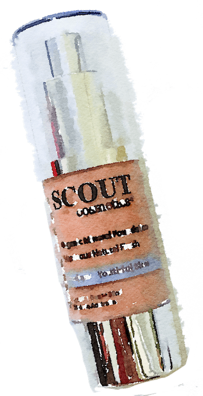Scout Cosmetics foundation.