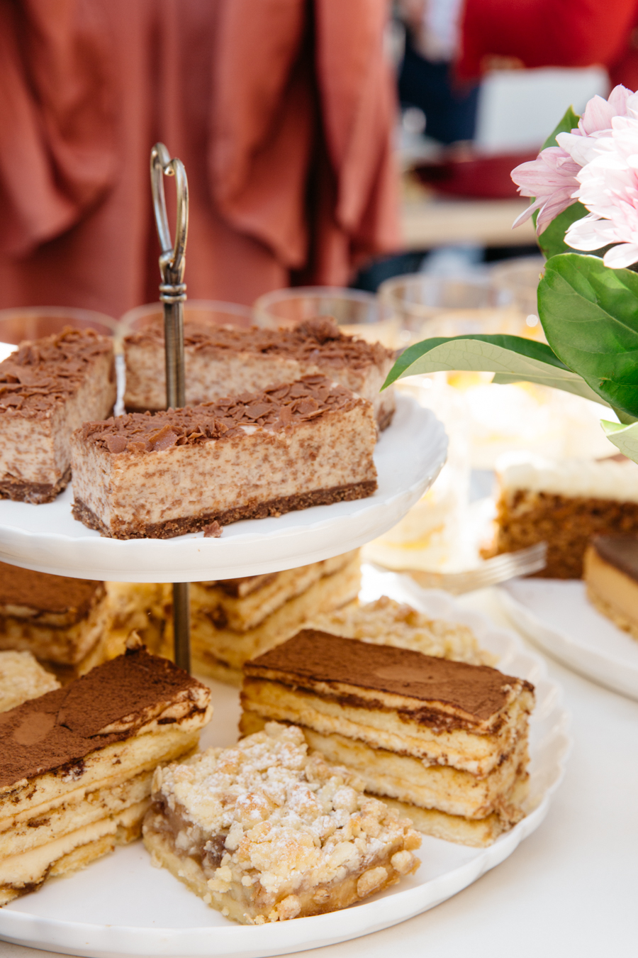 Assortment of Coffee Club cakes & desserts at Floreat Forum.