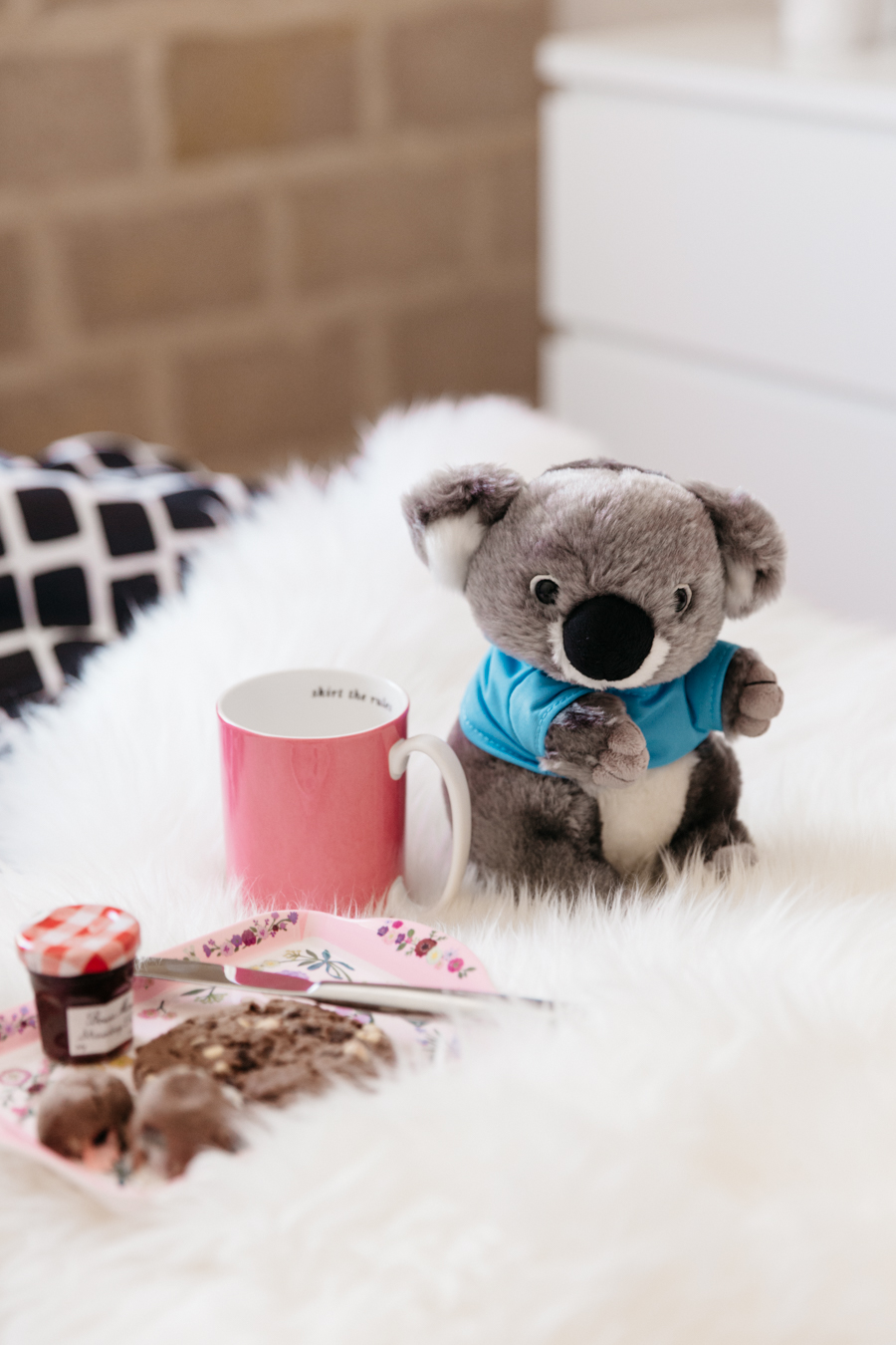 Kate Spade skirt the rules mug. Adopt a Koala. Koala Mattress review.