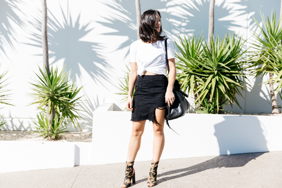 Missguided outfit style.