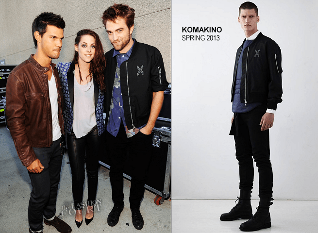Robert Pattinson em Marc Jacobs & Komakino | 2012 Teen Choice Awards