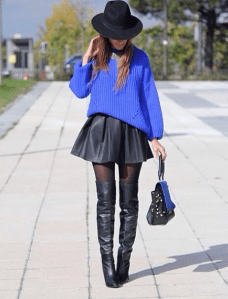 BLUE & BLACK STYLE