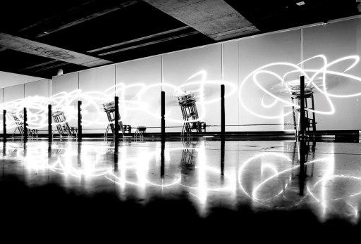 Loop System Quintet by Conrad Shawcross at MONA