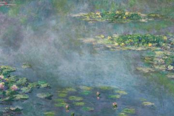"""Painted in 1906 by Claude Monet and consigned by an anonymous collector, """"Nympheas"""""""