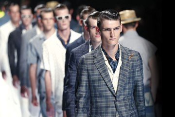 Louis Vuitton Men's Spring Summer 2013 show