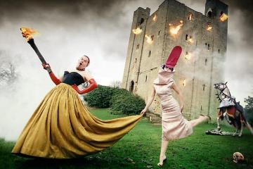 Alexander McQueen and Isabella Blow by David LaChapelle